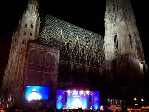New Years Eve at the Stephansdom