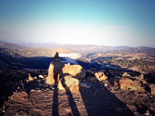 Overlooking Soda Springs in the morning